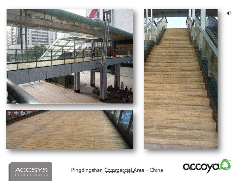 www.accoya.com 47 Pingdingshan Commercial Area - China
