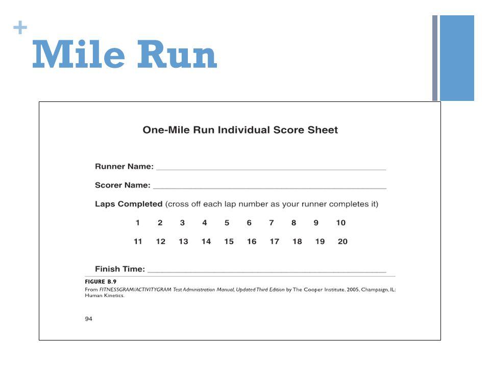 + Mile Run