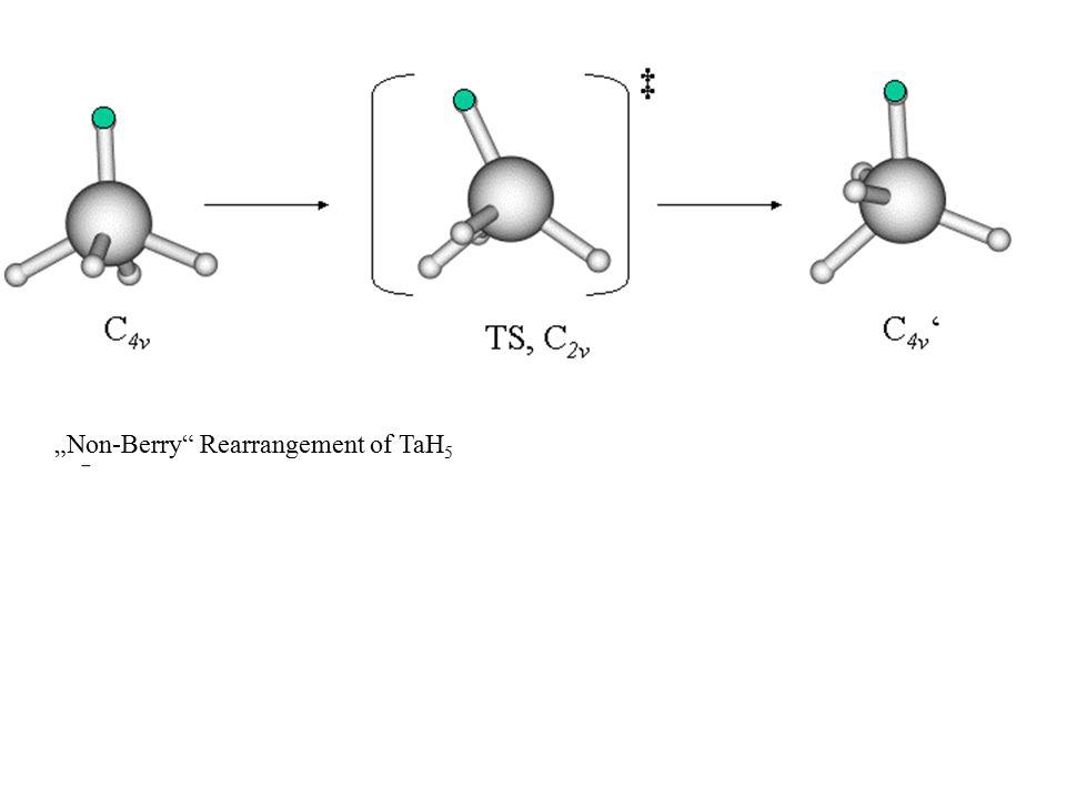 """""""Non-Berry"""" Rearrangement of TaH 5"""
