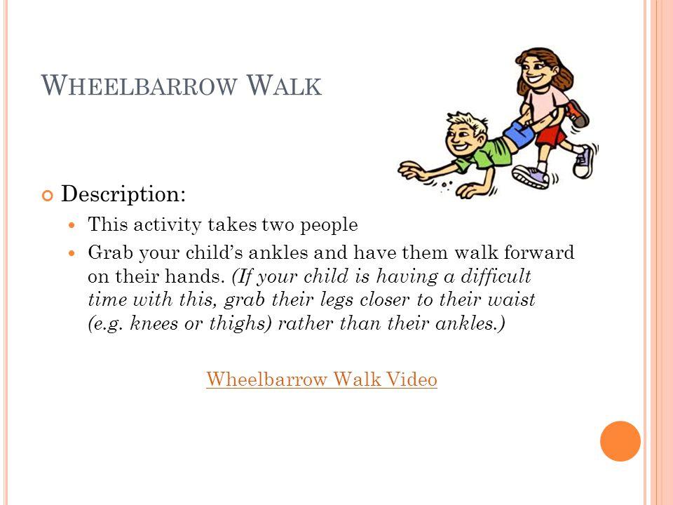 D OG W ALK Description: Walk forward on your hands and knees. Dog Walk Video