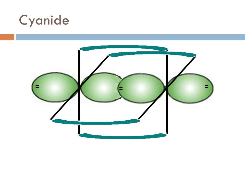 Cyanide == =