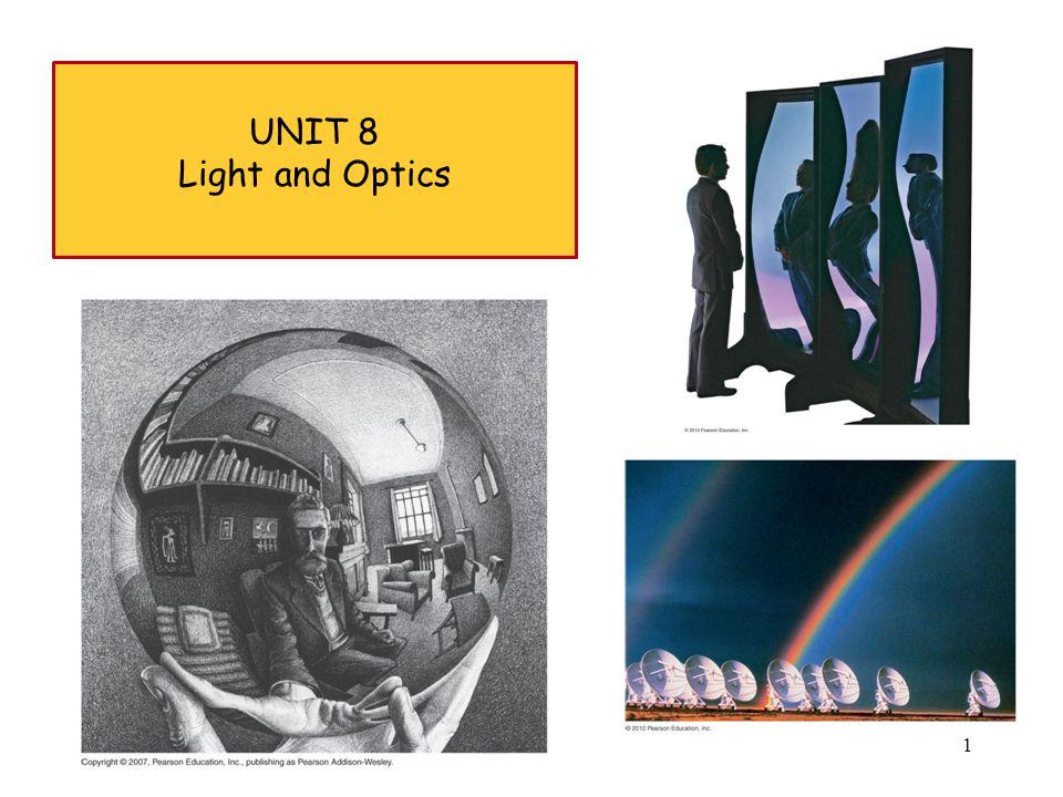 UNIT 8 Light and Optics 1
