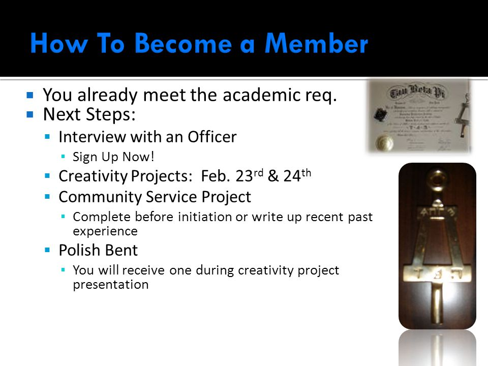  You already meet the academic req.  Next Steps:  Interview with an Officer ▪ Sign Up Now.
