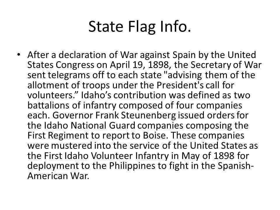 State Flag Info.
