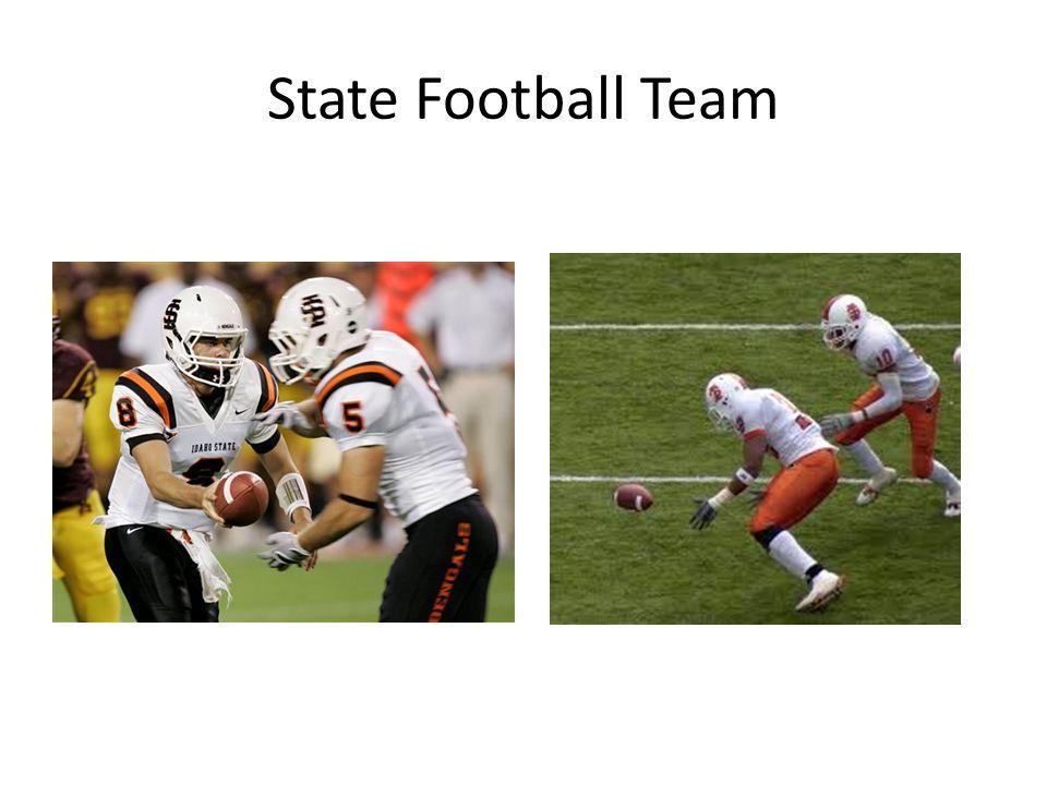 State Football Team