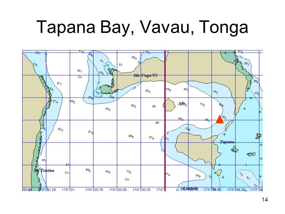 14 Tapana Bay, Vavau, Tonga