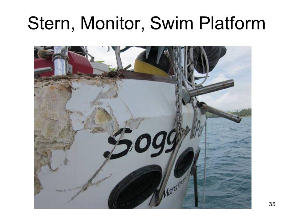 35 Stern, Monitor, Swim Platform