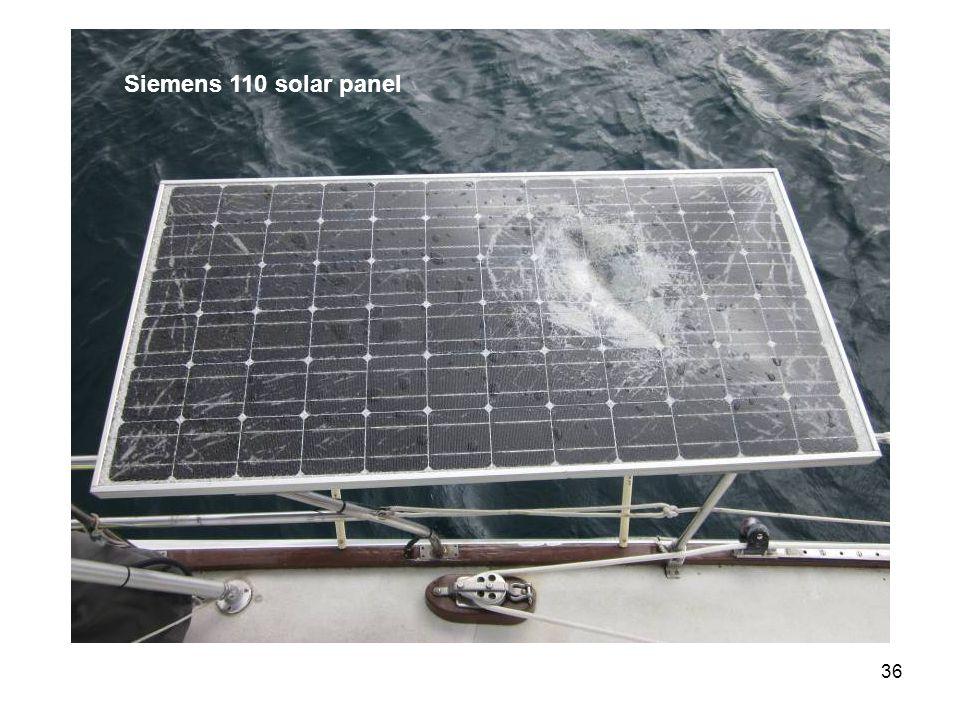 36 Siemens 110 solar panel