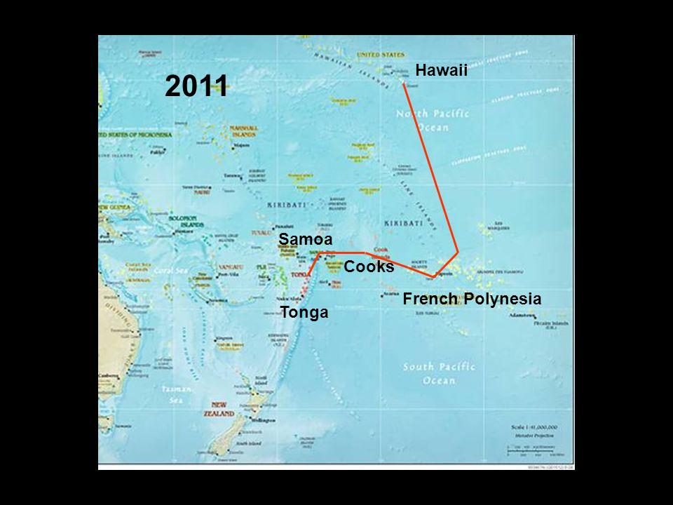 6 Summer in Tonga Cyclone season Nov 1 – May 1 Peak season Jan, Feb, Mar Mostly light winds, warm & humid Squally during SPCZ/MJO events Few cruisers - 8 boats 2011/2 –Most depart for NZ or Australia ~1 Nov