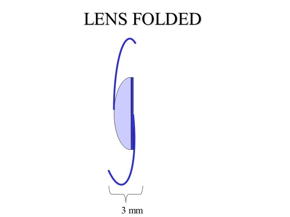 LENS FOLDED 3 mm