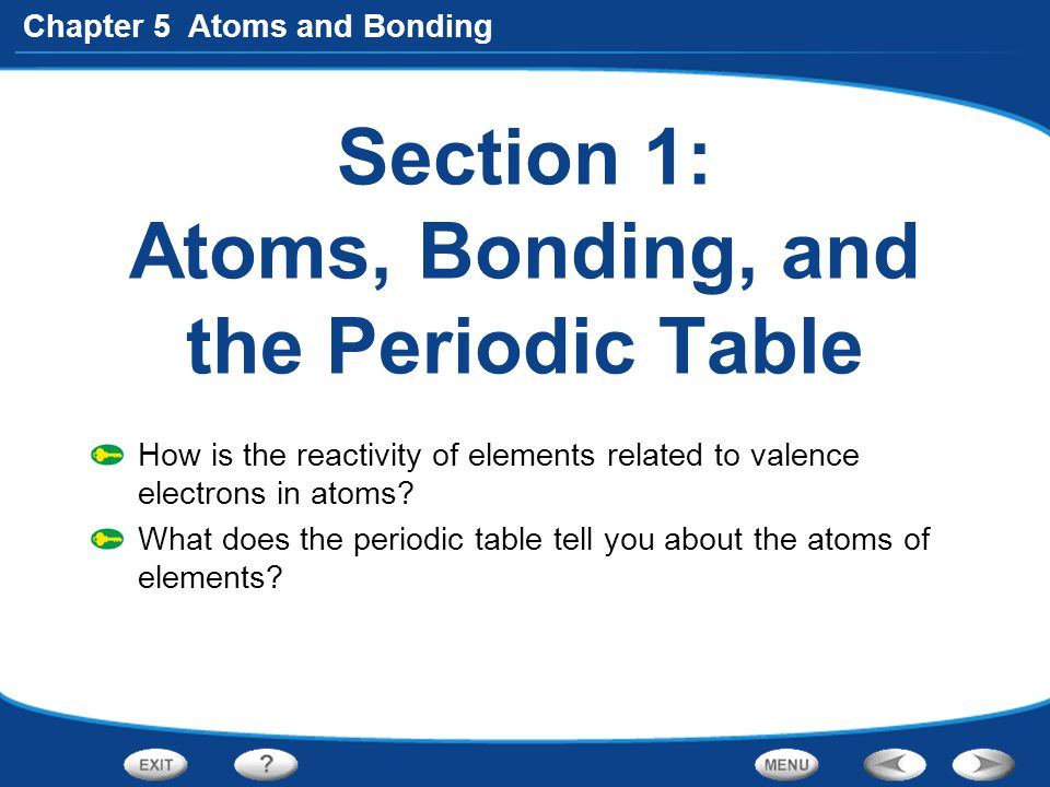 Chapter 5 Atoms and Bonding Section 3: Covalent Bonds What holds covalently bonded atoms together.