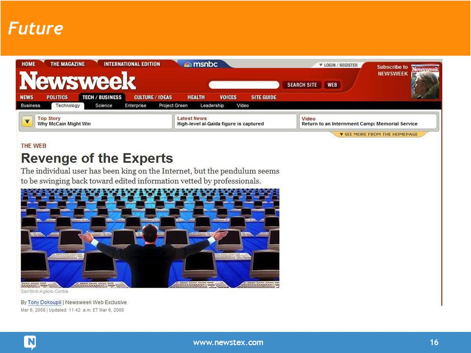 www.newstex.com16 Future