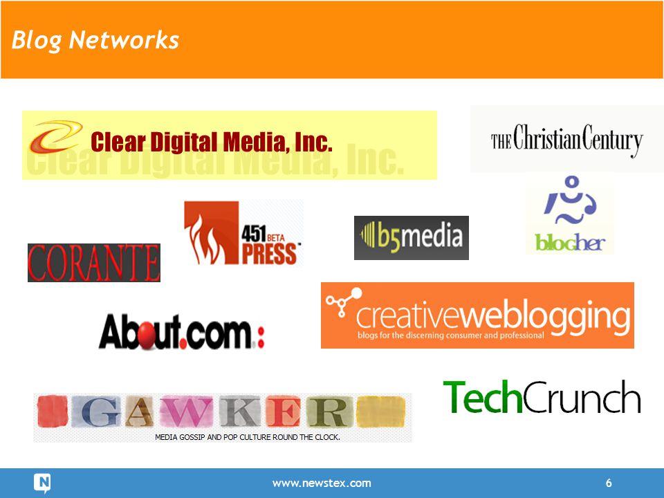 www.newstex.com6 Blog Networks