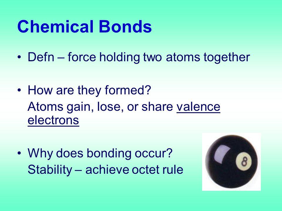 Metallic Bonding Defn – attraction of metallic cations Occurs only in metals