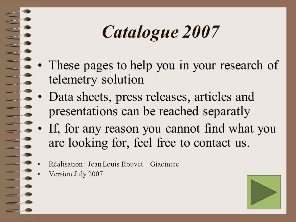 Catalogue Giacintec / T.C.E.Where are we .
