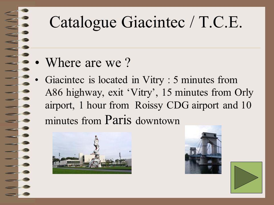 Where are we .T.C.E.