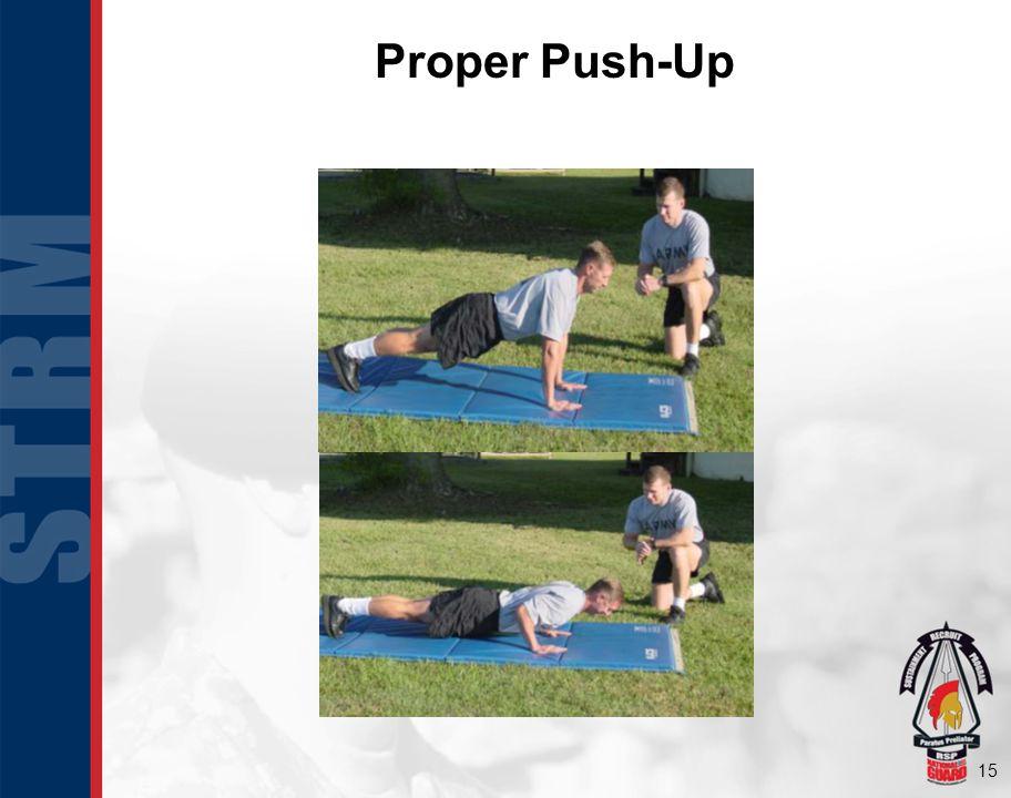 15 Proper Push-Up