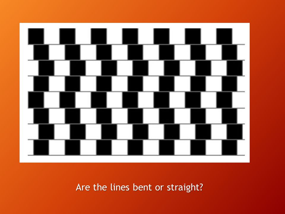 Are the lines bent or straight?