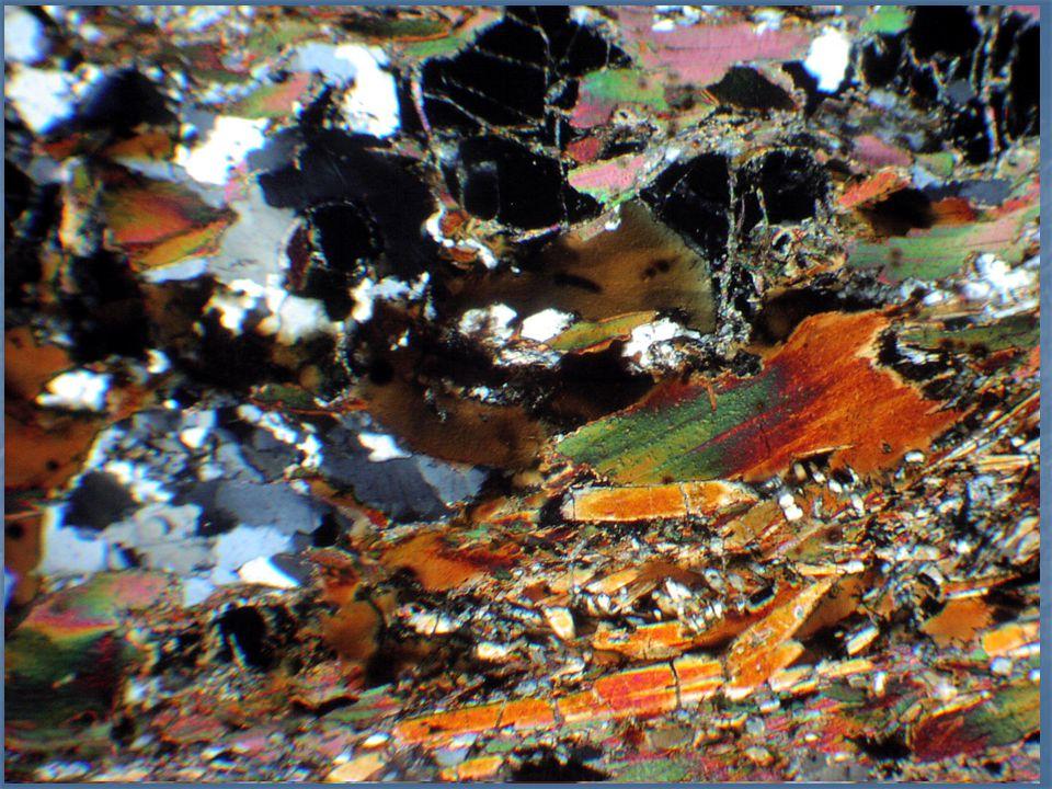V- Upper sillimanite zone The highest grade of contact metamorphism of pelites is characterized by the assemblage sillimanite + cordierite + biotite + K-feldspar + quartz + muscovite.