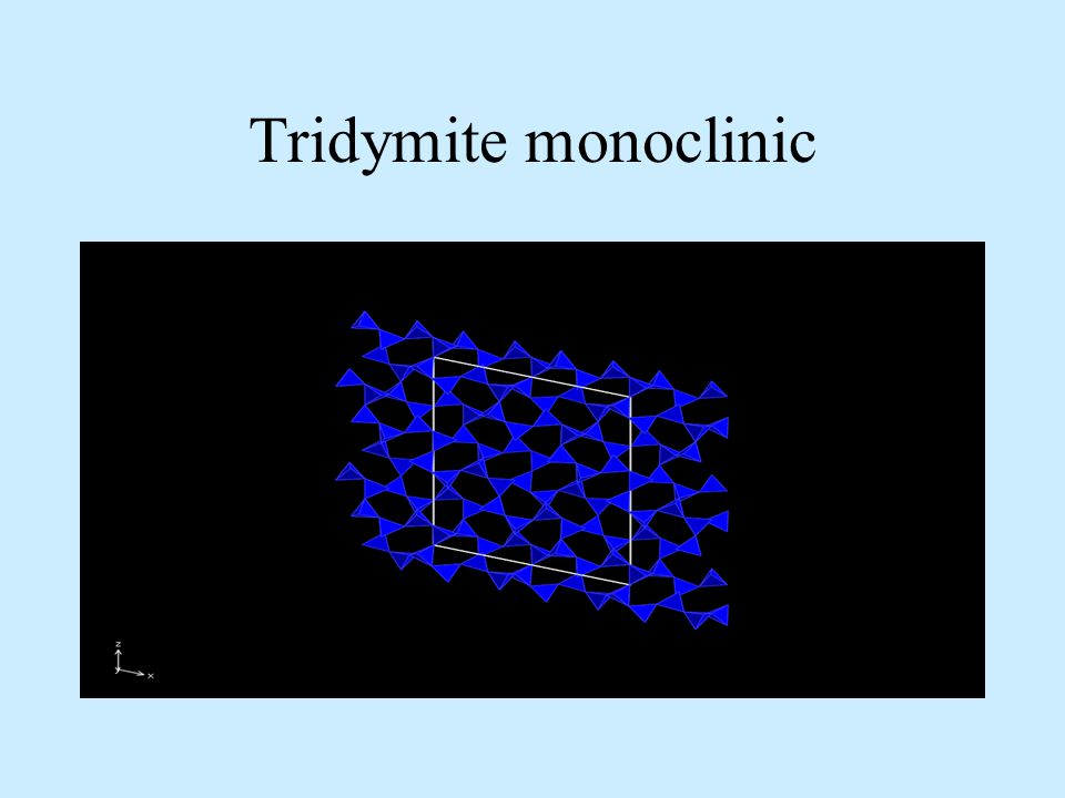 Tridymite monoclinic