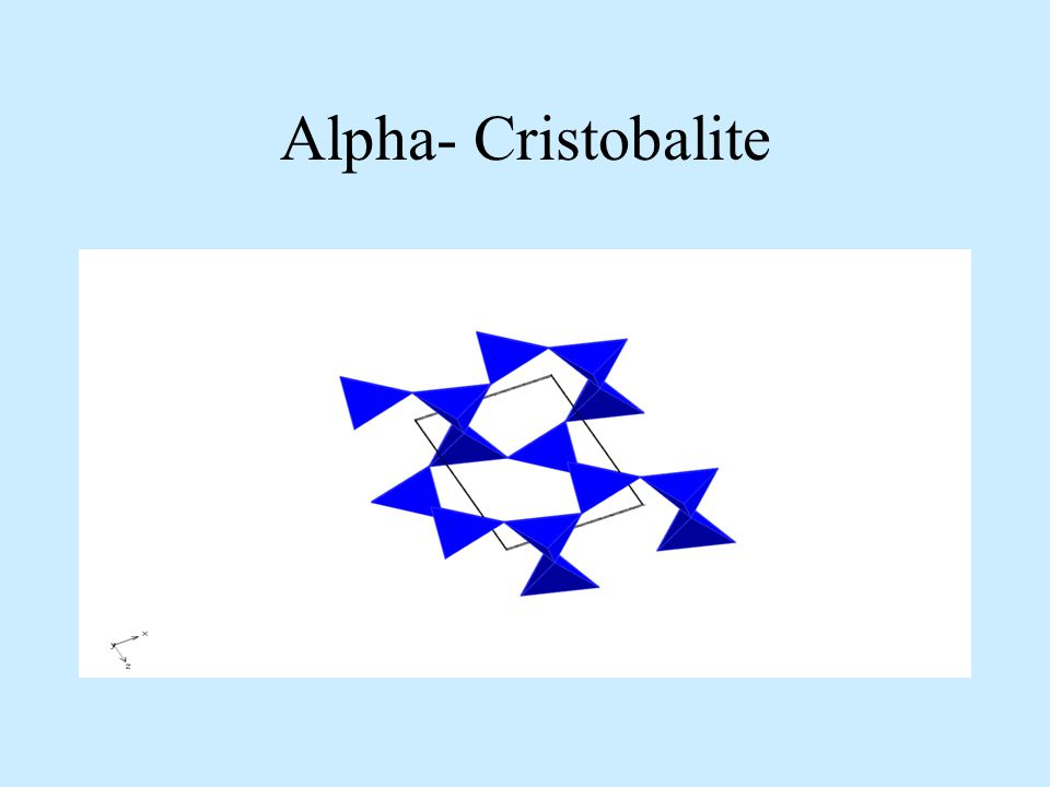 Alpha- Cristobalite