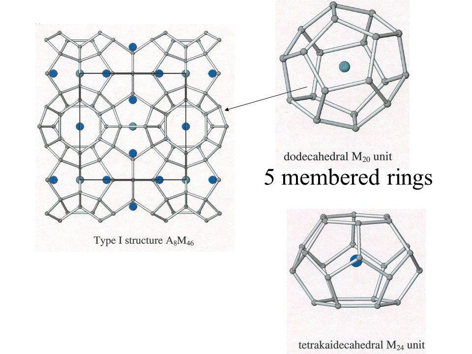 5 membered rings