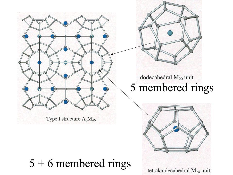 5 + 6 membered rings