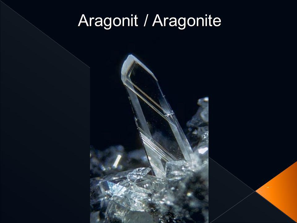 Aragonit / Aragonite