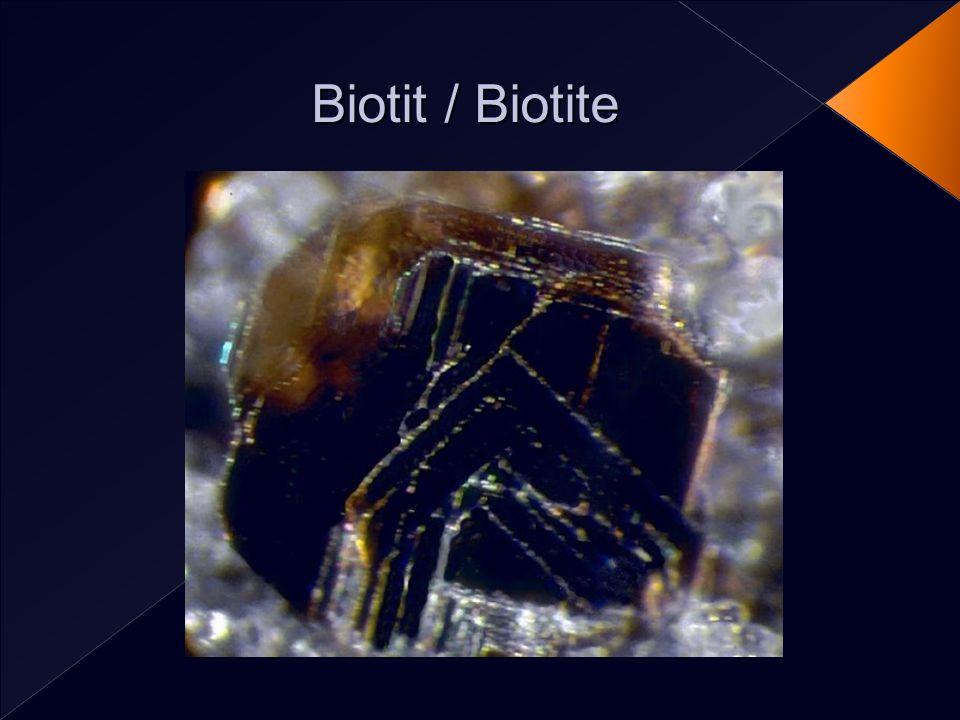 Biotit / Biotite