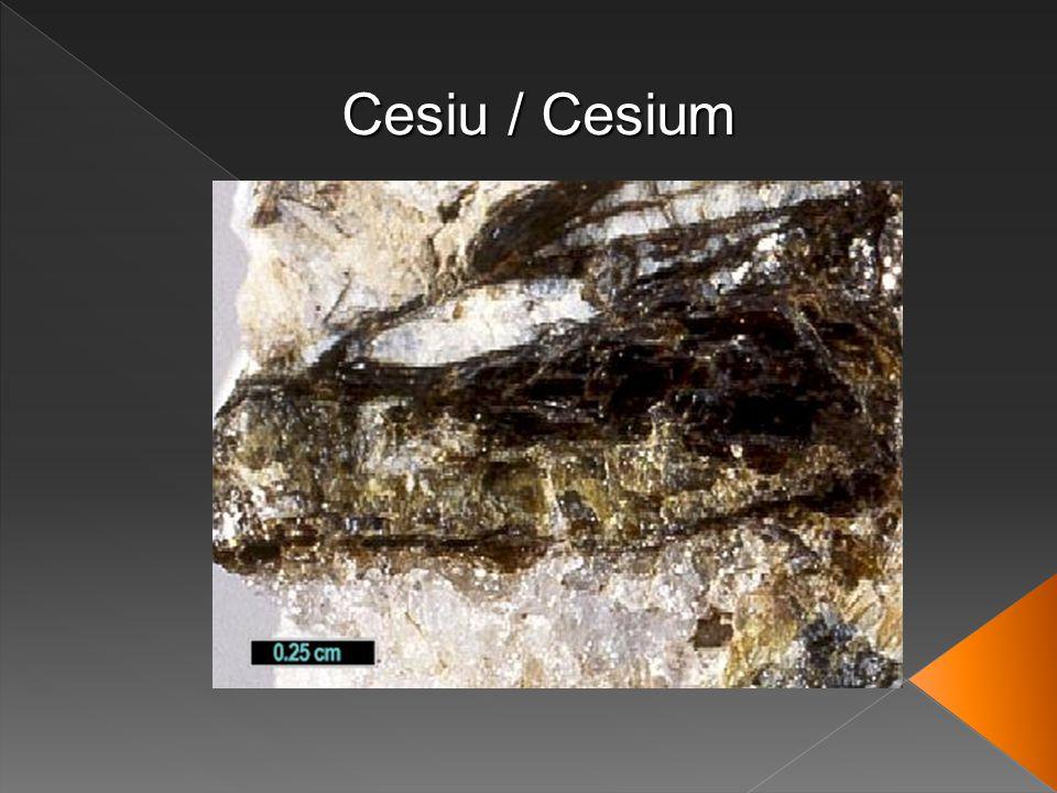 Cesiu / Cesium