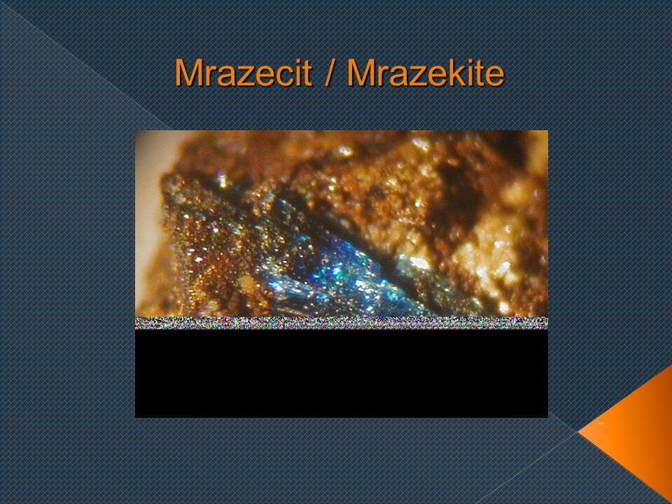 Mrazecit / Mrazekite