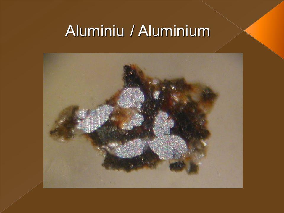 Aluminiu / Aluminium