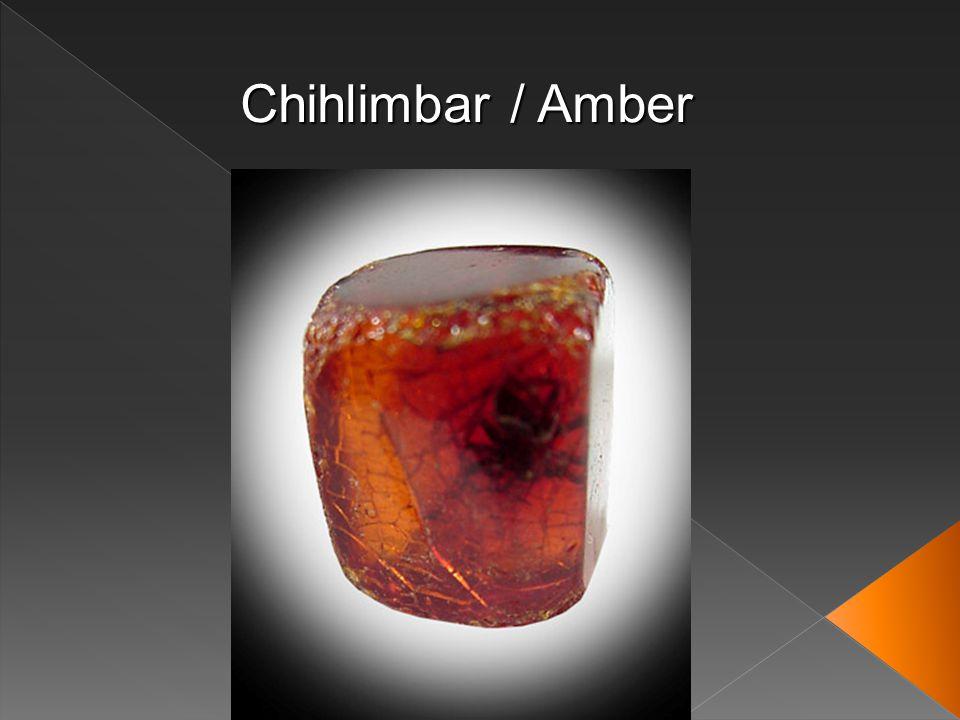 Chihlimbar / Amber