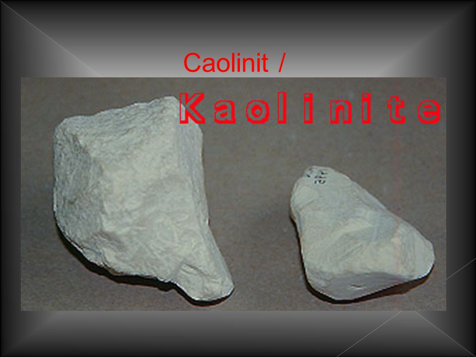 Caolinit /