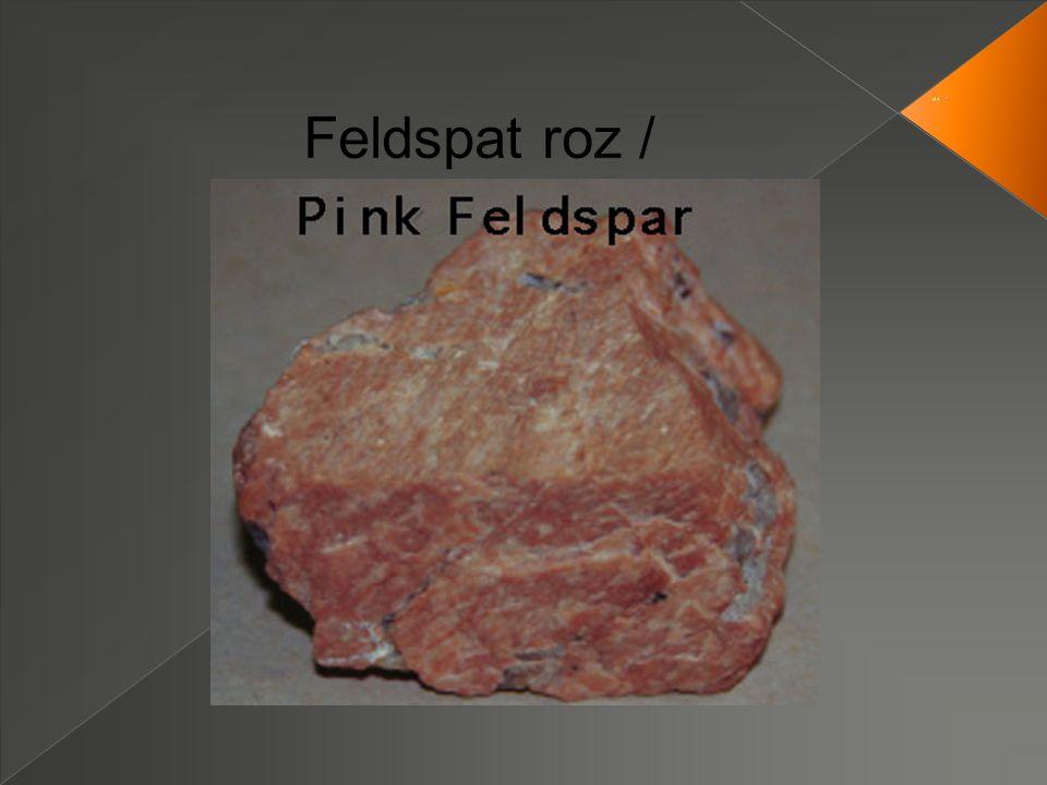 Feldspat roz /