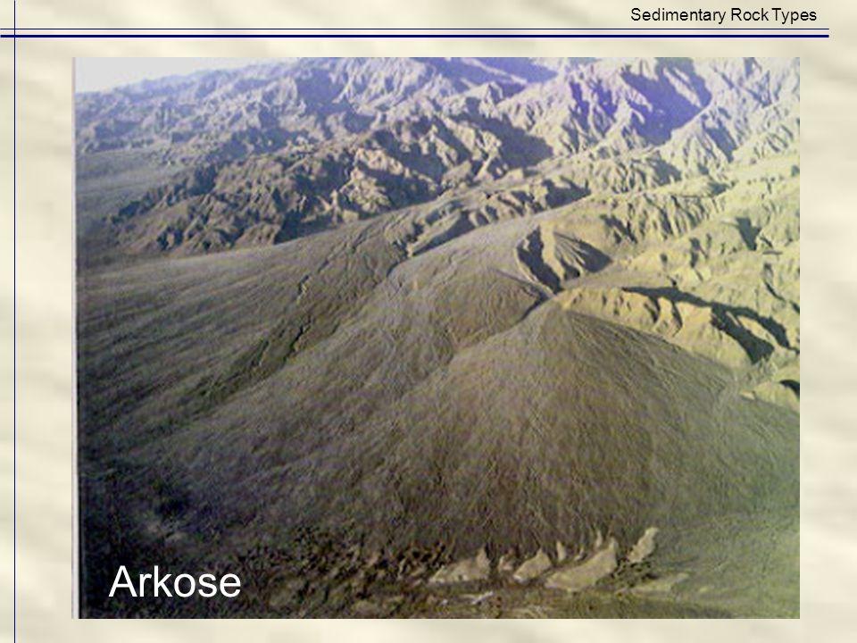 Sedimentary Rock Types Arkose