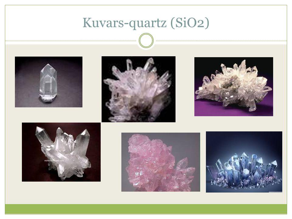 Kuvars-quartz (SiO2)