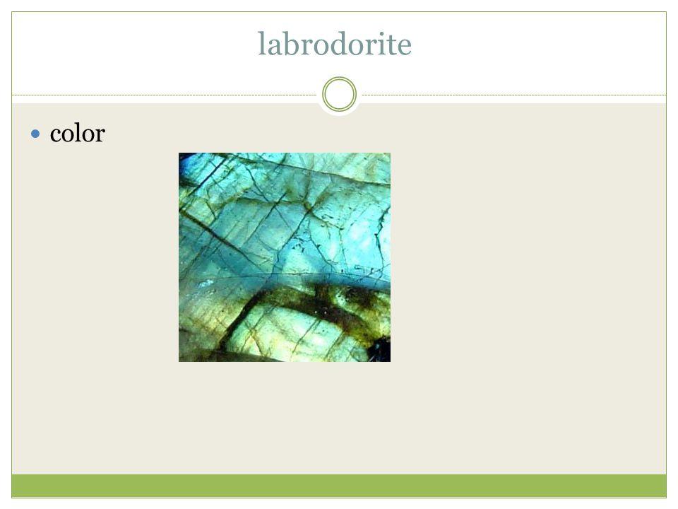 labrodorite color