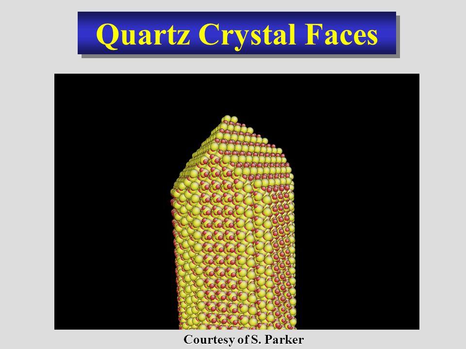 Quartz Crystal Faces Courtesy of S. Parker