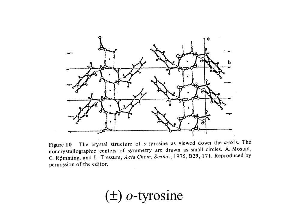 (  ) o-tyrosine