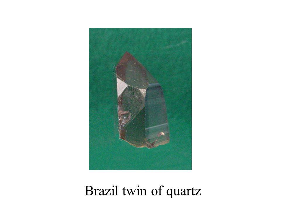 Brazil twin of quartz