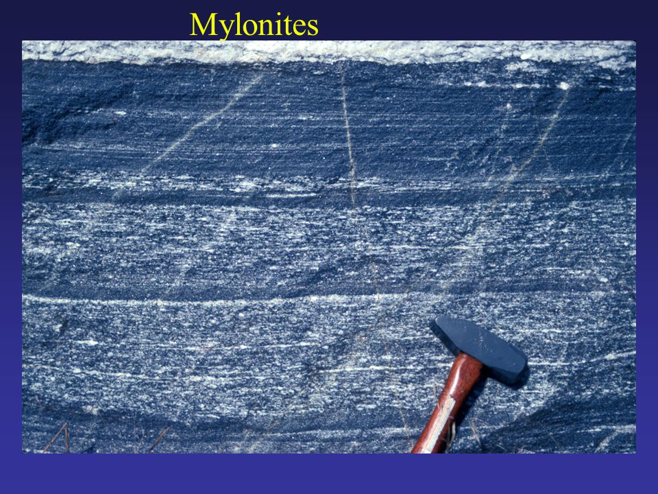 Mylonites