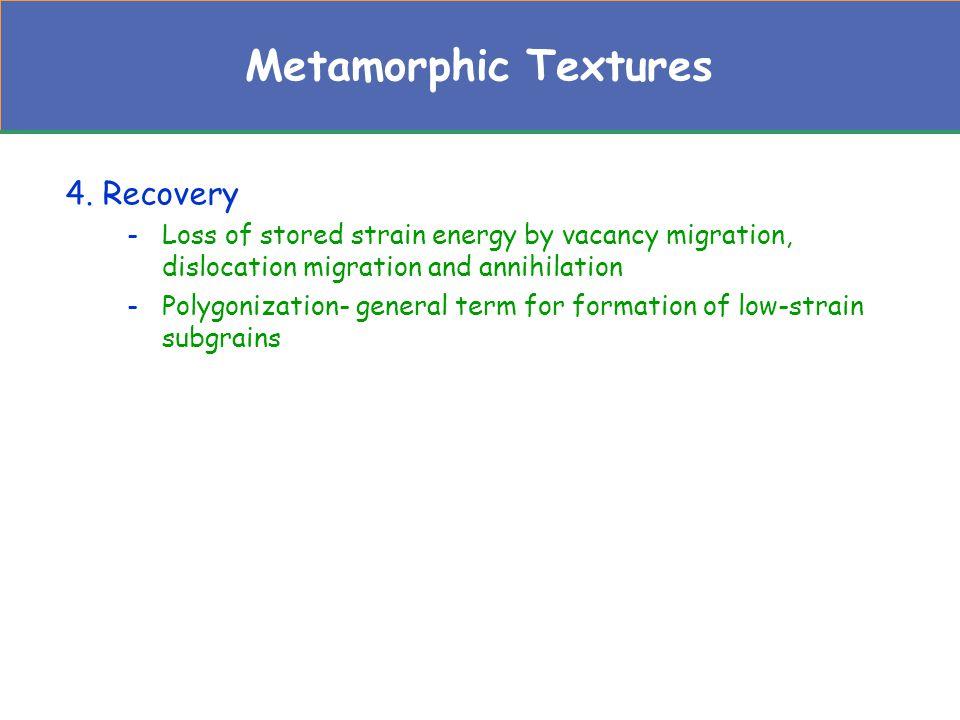 Metamorphic Textures 5.