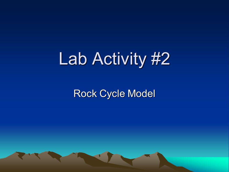 Lab Activity #2 Rock Cycle Model