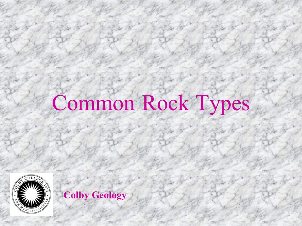 Metamorphic Rocks Types of Foliation Gneissic banding minerals segregated into bands Usually found in gneiss