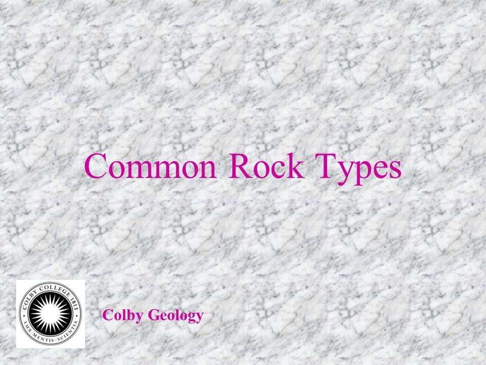 Coarse-grained Clastic Sedimentary Rocks ConglomerateBreccia
