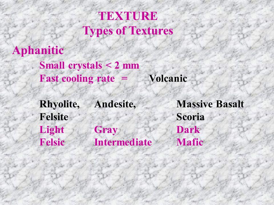 RhyoliteFelsite