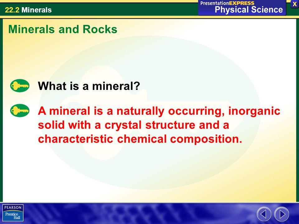 22.2 Minerals 4.