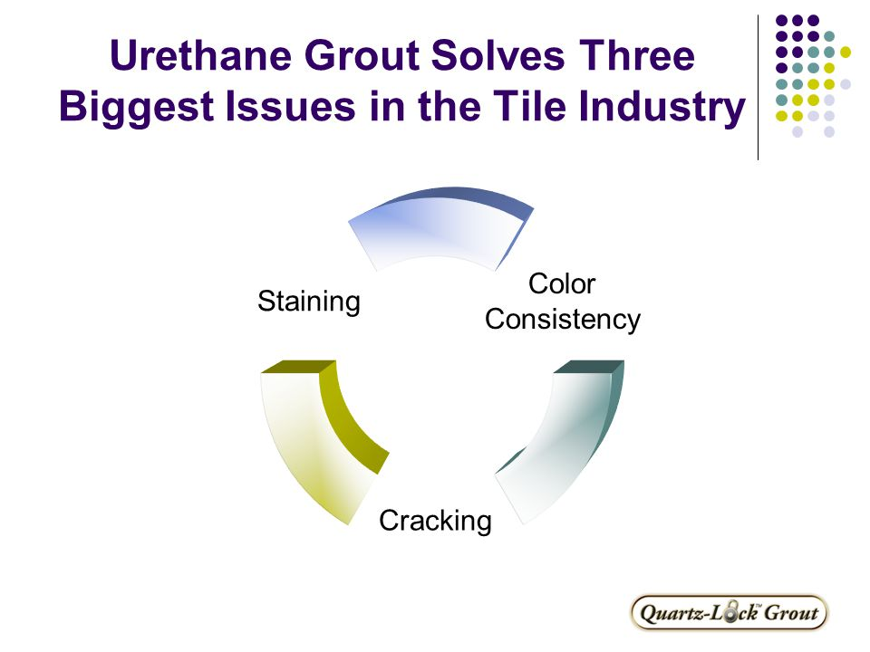 Why use Quartz-Lock ® Grout.