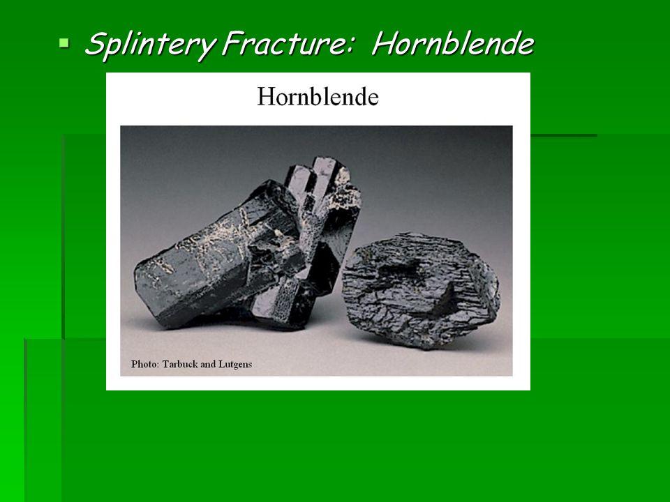 2) Fracture- - Rose Quartz